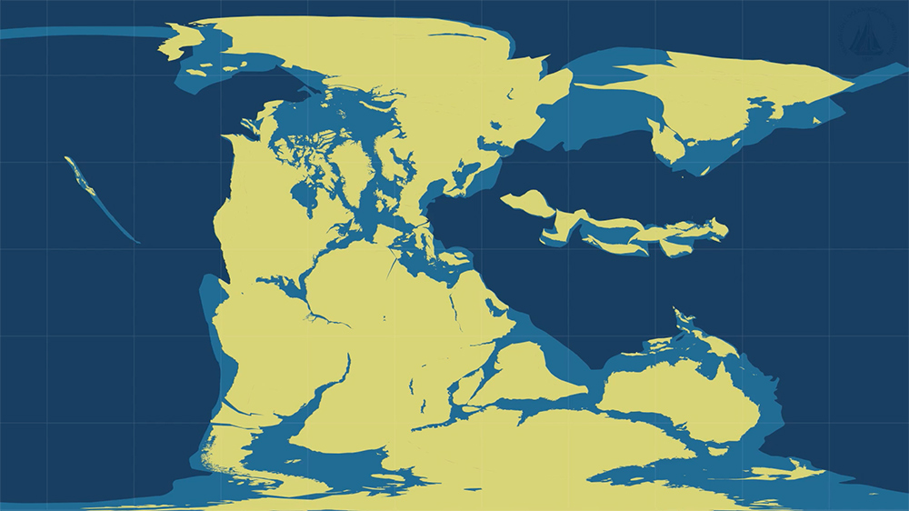 Breakup of Pangea in Plate tectonics Pangea Plate