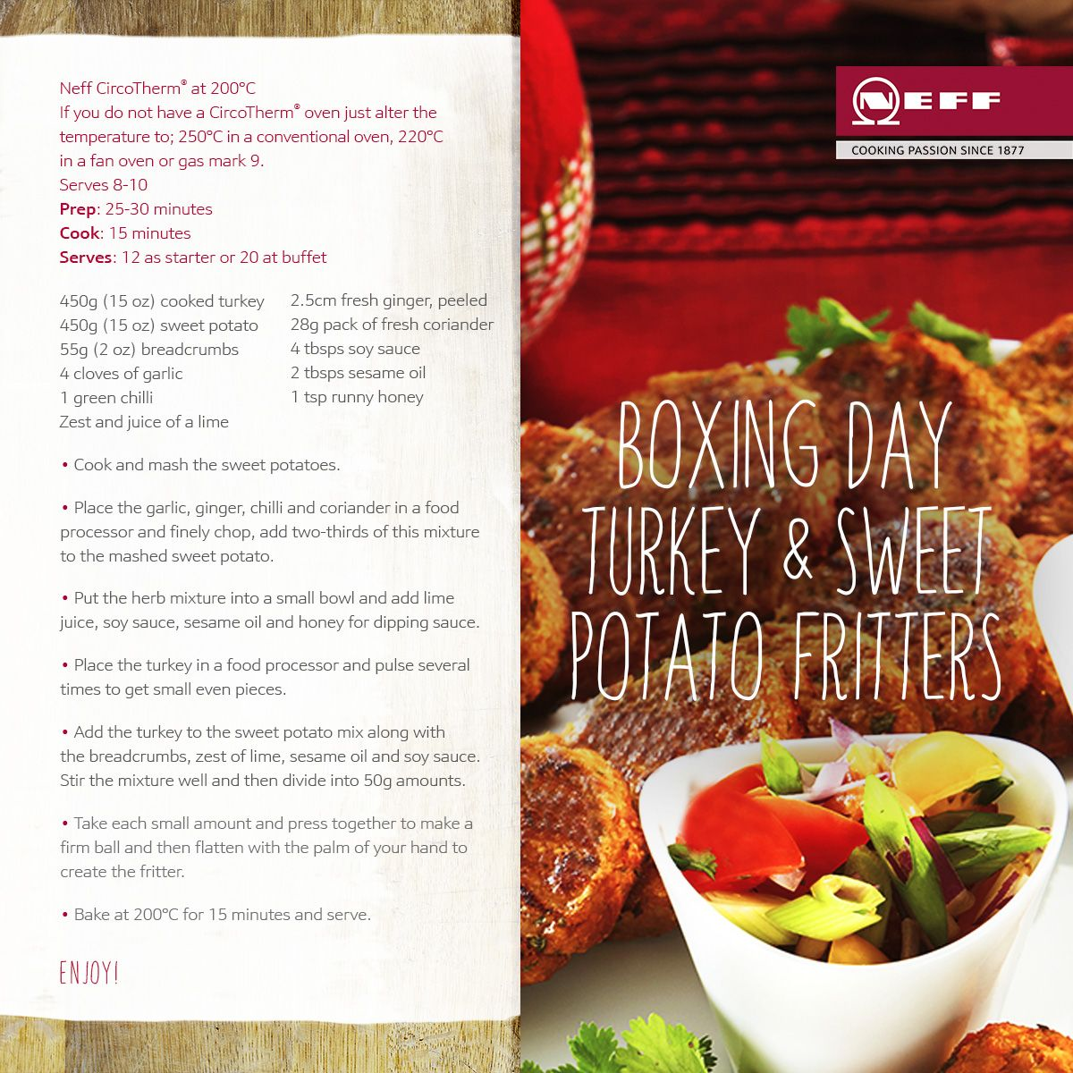 Heres a great recipe for leftover christmas day turkey neff food heres a great recipe for leftover christmas forumfinder Gallery
