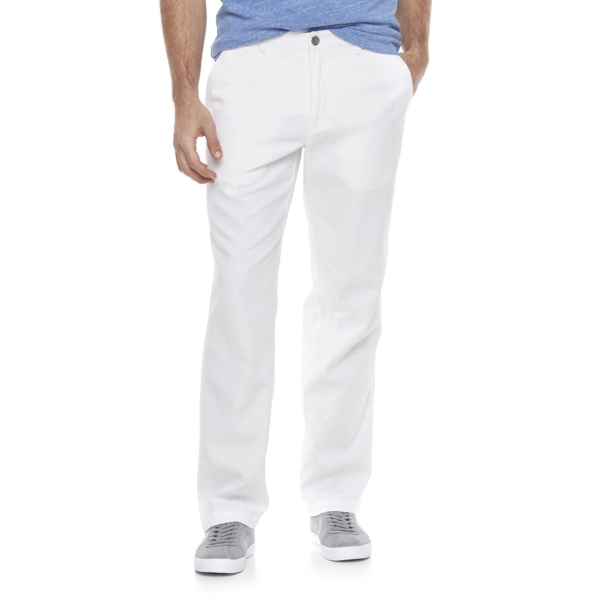 e86d8f73f4a8d7 Men's Marc Anthony Slim-Fit Linen-Blend Pants | Products | Pants ...