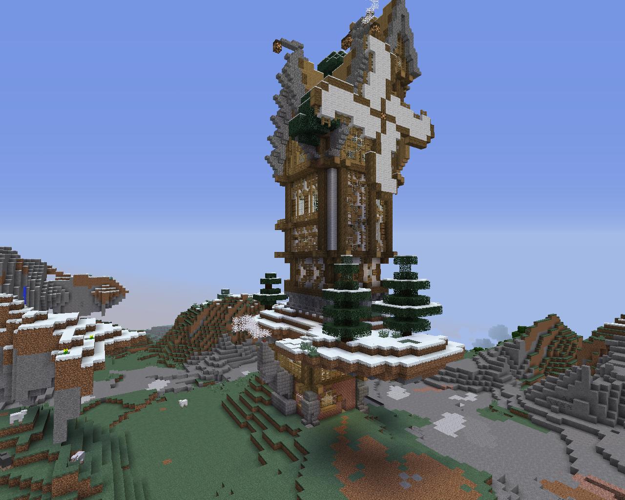 Maison Steampunk Minecraft