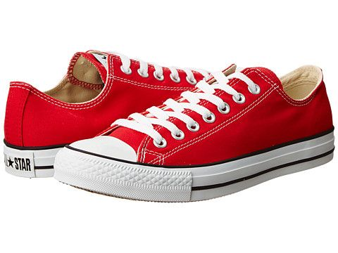 Converse Chuck Taylor® All Star® Core Ox Red - Zappos.com Free Shipping  BOTH Ways 5d72858ee