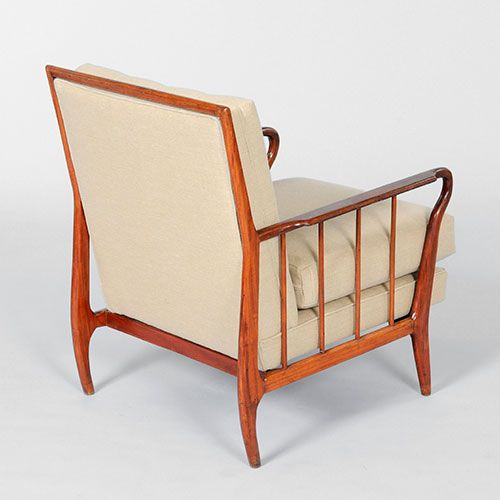Pair Of Armchairs By Rino Levi, Brazil, 1950s