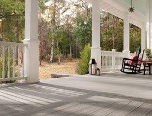 Trex Deck Accessories Porch Flooring Porch Patio Painted