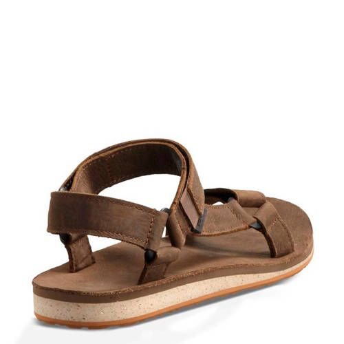 Teva Original leren outdoor sandalen bruin Sandalen, Bruin