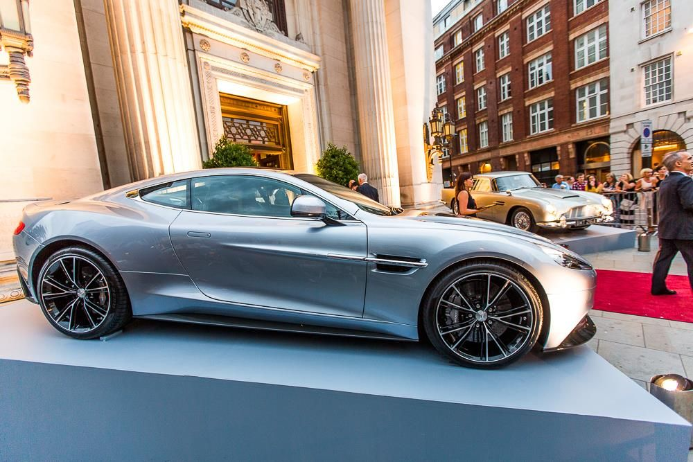 100 years of Aston Martin celebrated with a Rally to London