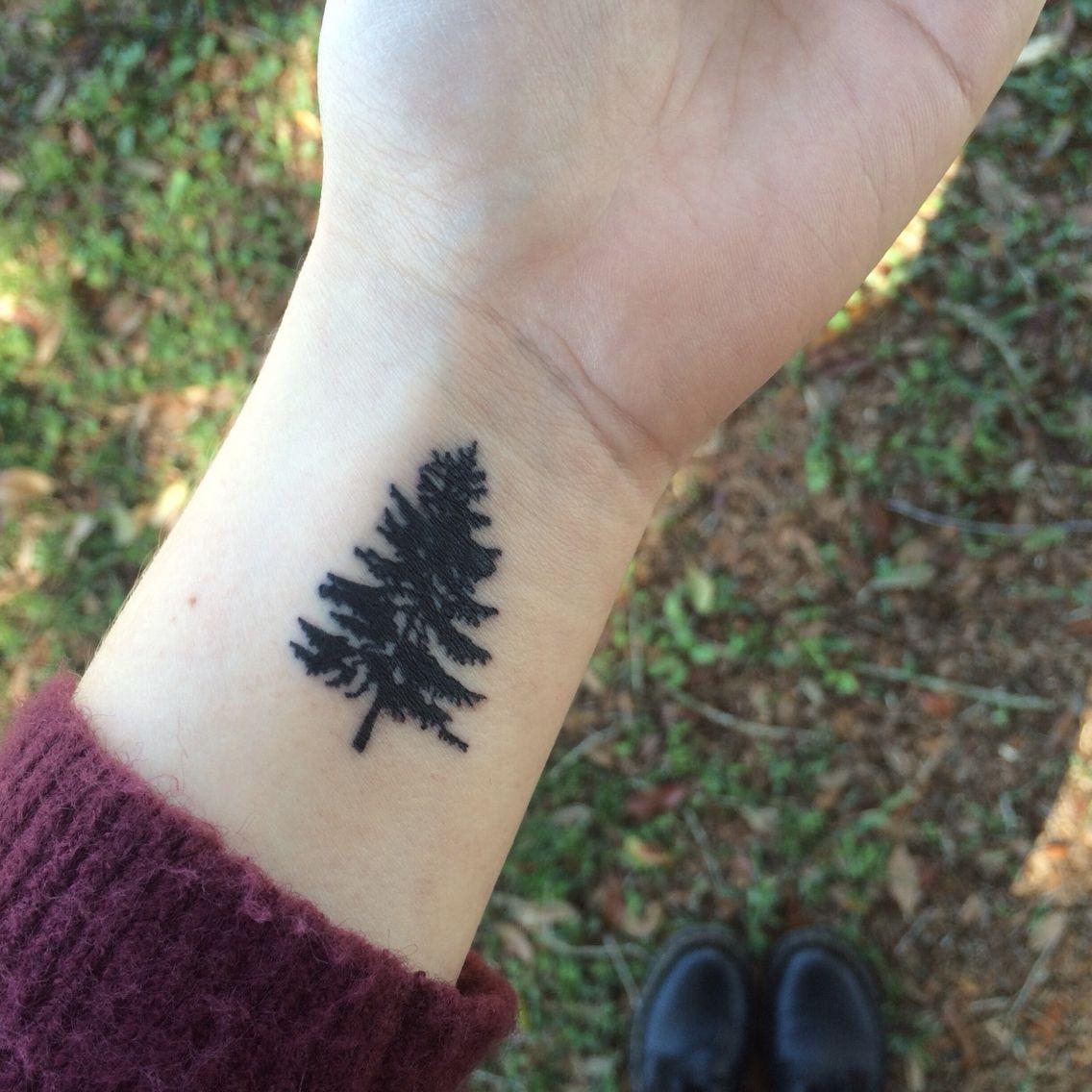 My Small Pine Tree Tattoo …