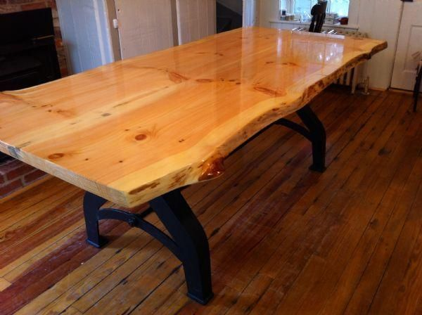 Live Edge Kitchen Table For Our House