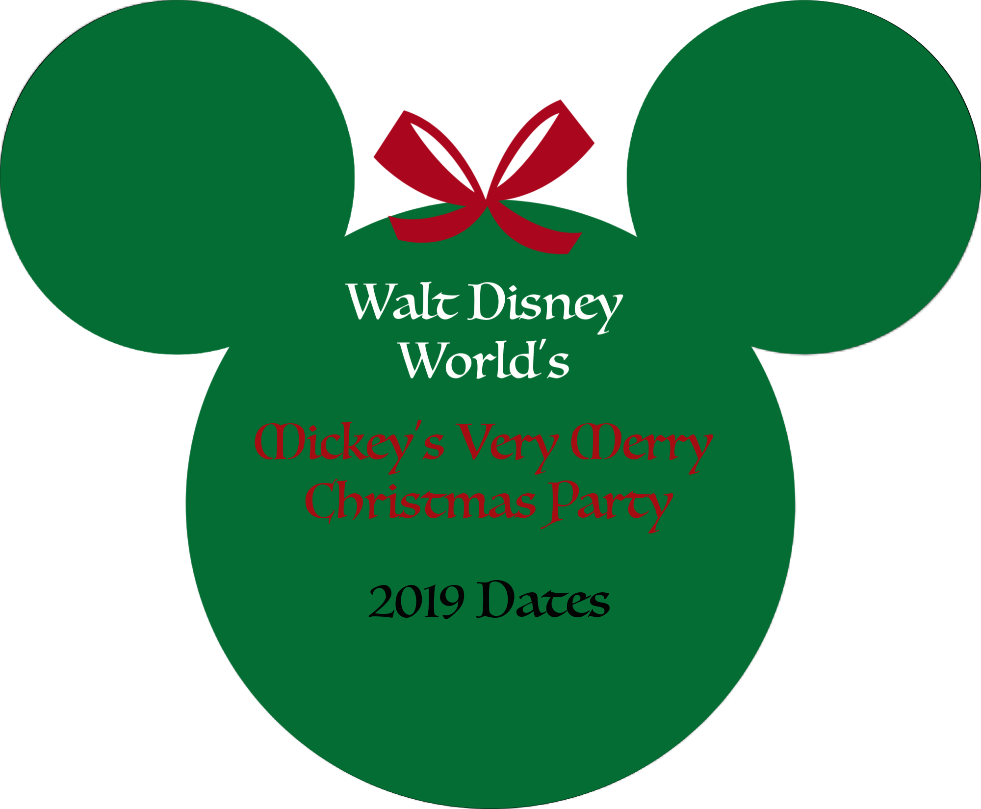 Christmas Party 2019 Clipart.2019 Mickey S Very Merry Christmas Party Tickets On Sale Now