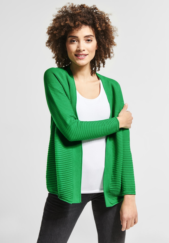 ea027f4249 Street One - Farbenfroher #Cardigan mit Struktur, ein echtes Highlight. # mode #