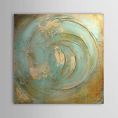 Hand painted abstract square one panel canvas oil painting for home for the blue room light in the box hand painted oil painting abstract 1303 aloadofball Choice Image