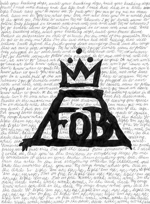 Fall Out Boy Logo Wallpaper