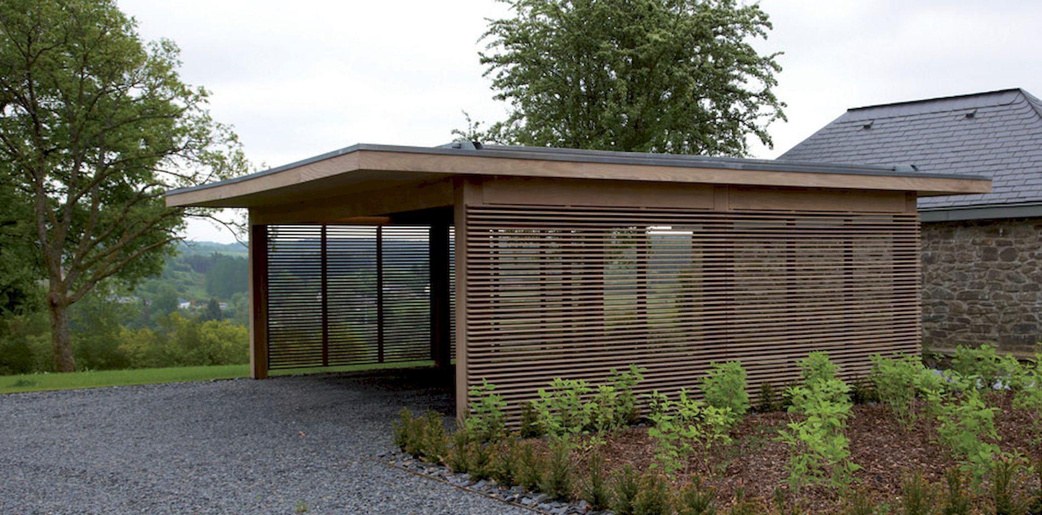 Assez Adorable modern carports garage designs ideas (4 | Modern carport  MH02