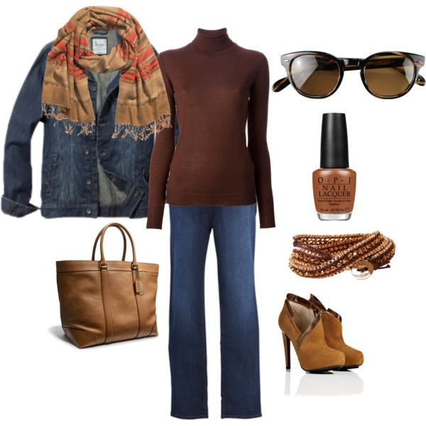 """Fall Weekend Getaway / Plus"" by terry-tlc on Polyvore"