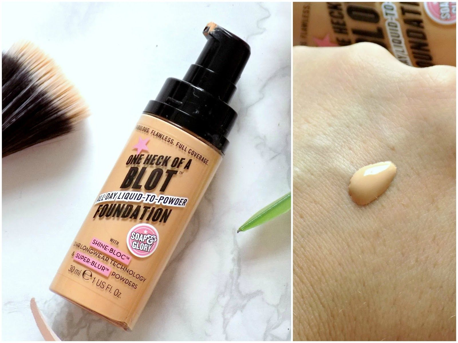 Absolute BEST foundation for oily skin. Amazing full