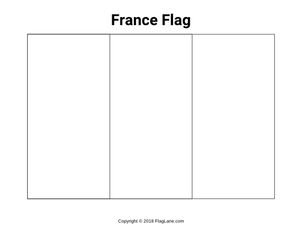 Coloring French Flag