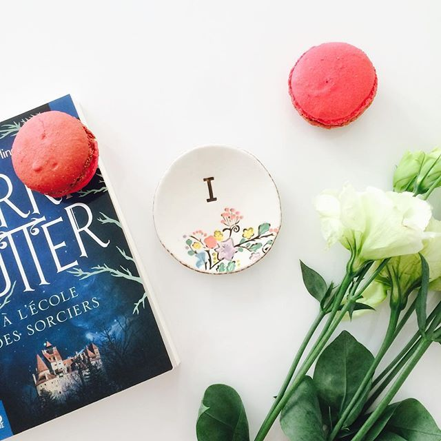 Parisian afternoons are made for Harry Potter and macarons
