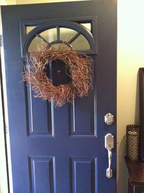 Lullabylubbock Benjamin Moore Hale Navy Front Door
