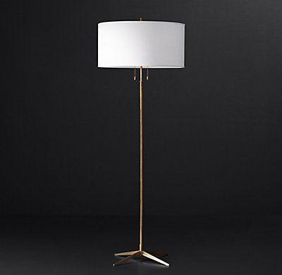 Rh modern milos floor lamp
