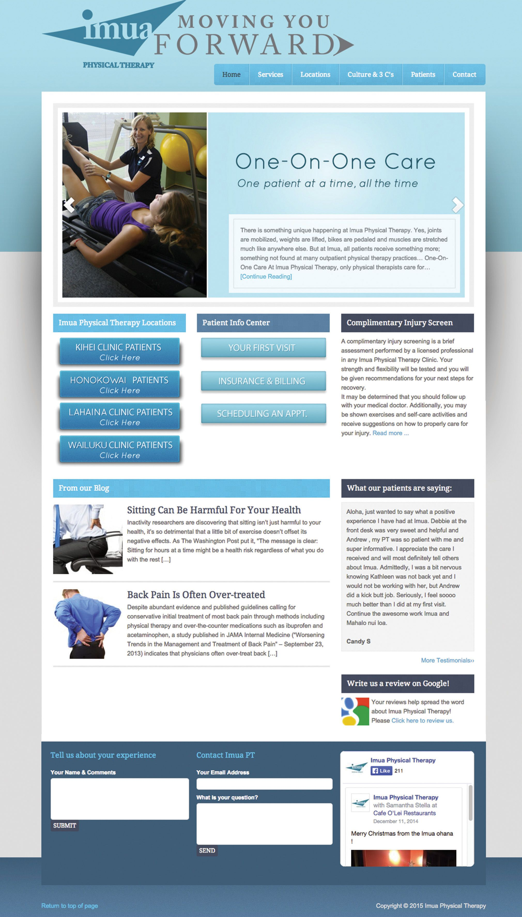 Web And Graphic Design Portfolio For Brand And Brush With Images Physical Therapy Web Design Graphic Design Portfolio
