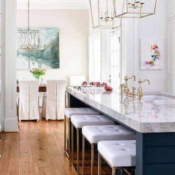 Incredible White And Gold Island Stools Interior Design Home Decor Inzonedesignstudio Interior Chair Design Inzonedesignstudiocom
