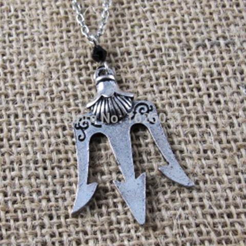 Percy Jackson Trident Pendant Necklace