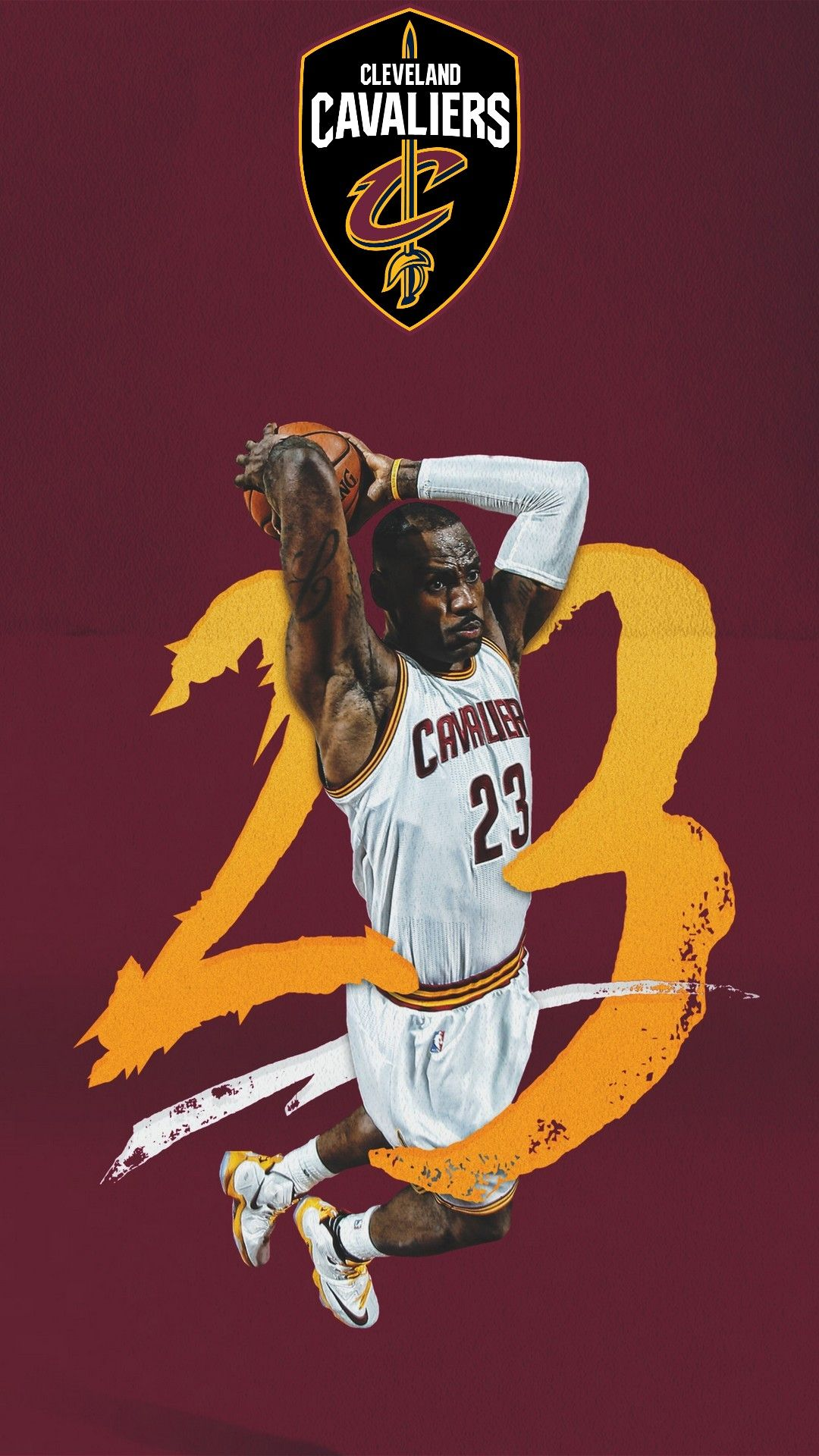 Mobile Wallpaper HD LeBron James