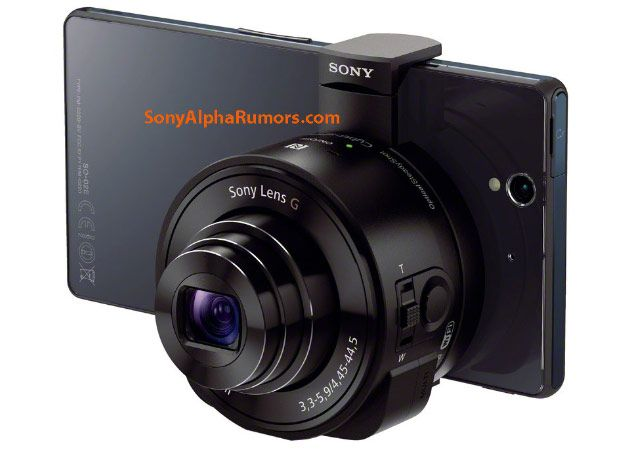 Sony S Rumored Qx10 And Qx100 Lens Cameras Pair With Your