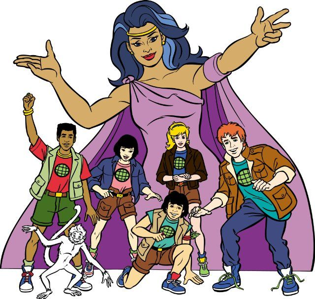 captain planet and the planeteers anyone remember