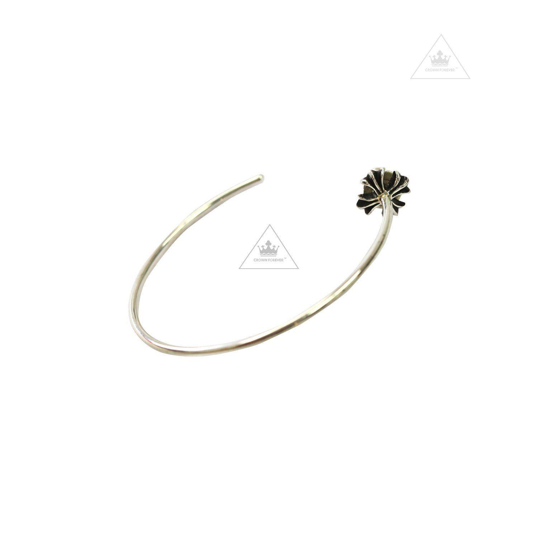 af017accdf6 CH Plus Cross Hoop Earring Chrome Hearts