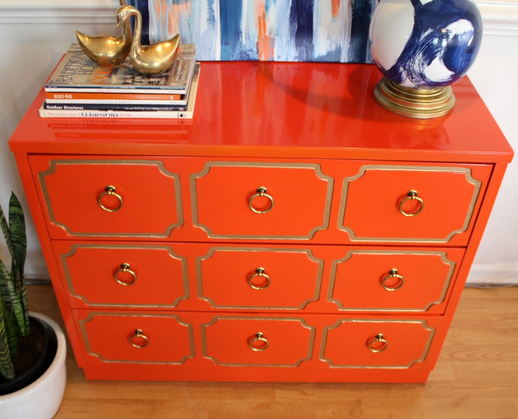 red lacquered furniture. vintagemoderneclectic welcome to my shop here you will find vintage furniture i have refinished using a high gloss lacquer like fini red lacquered