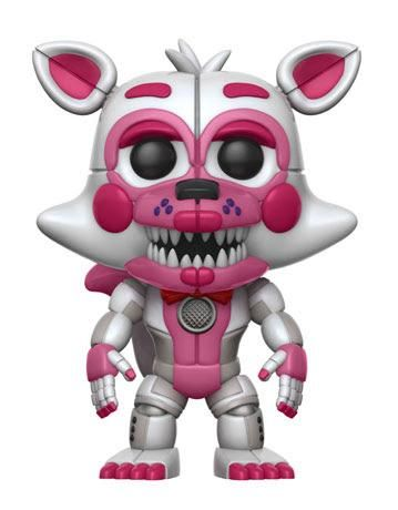 Funko POP FNAF Jumpscare Funtime Foxy 2017 SDCC Exclusive #223