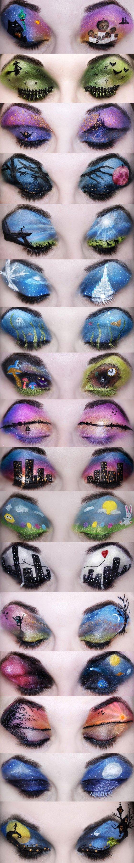 Disney Eye shadow wow I LOVE DISNEY