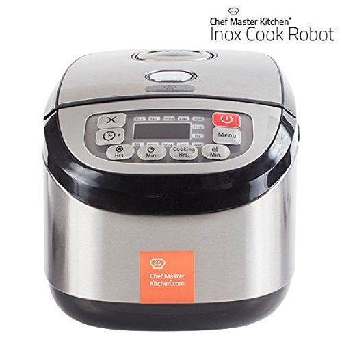 Robot Cuisine Inox Cook | COSE DI CASA- STUFF FOR HOME ...