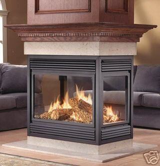 $2400 Napoleon Natural Vent Gas Fireplace BGNV 40N Island Free ...