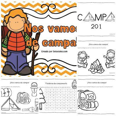 De Los Tales Campamentos Primavera Pinterest Campamento