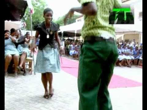 Azonto Dance - Getting pumped for International Arts