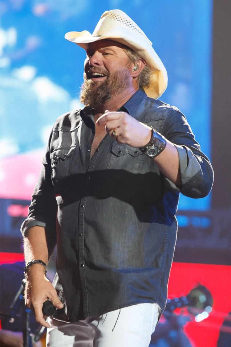 Happy birthday, Toby Keith: See photos from his fi
