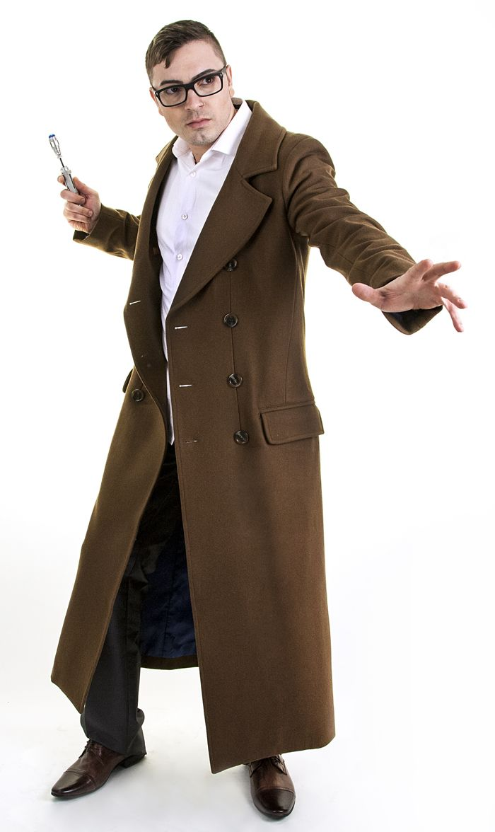 10th Doctor Coat | Officially Licensed Tenth Doctor Coat | AbbyShot  sc 1 st  Pinterest & 10th Doctor Coat | Officially Licensed Tenth Doctor Coat | AbbyShot ...