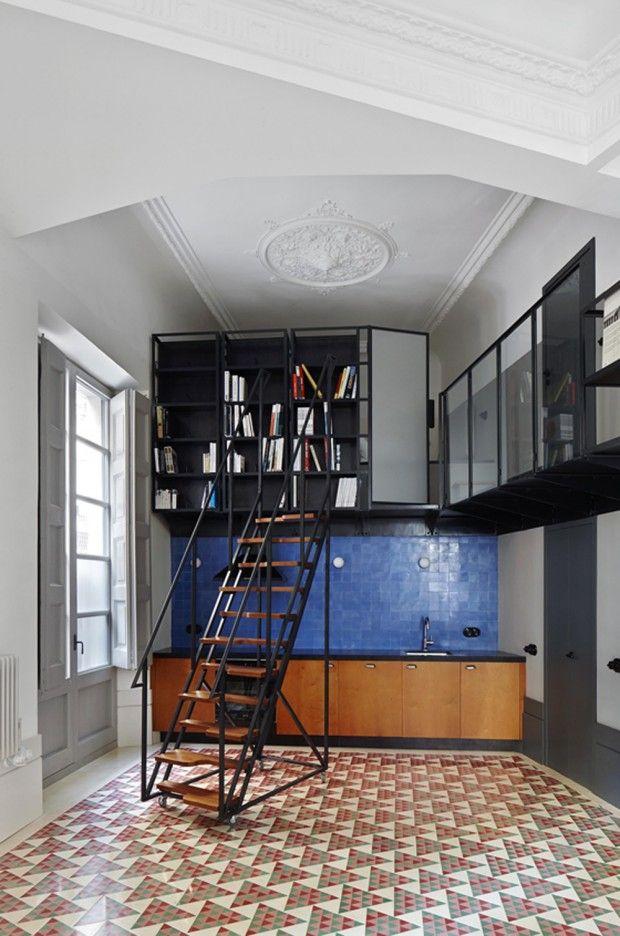 "Interior fram Carrer Avinyo apartment in Barcelona by ""David Kohn Architects'"