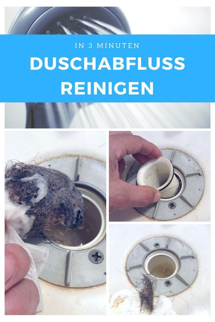 Abfluss In Der Dusche Verstopft Siphon Reinigen In 3 Minuten Duschabfluss Reinigen Duschabfluss Waschbecken Abfluss