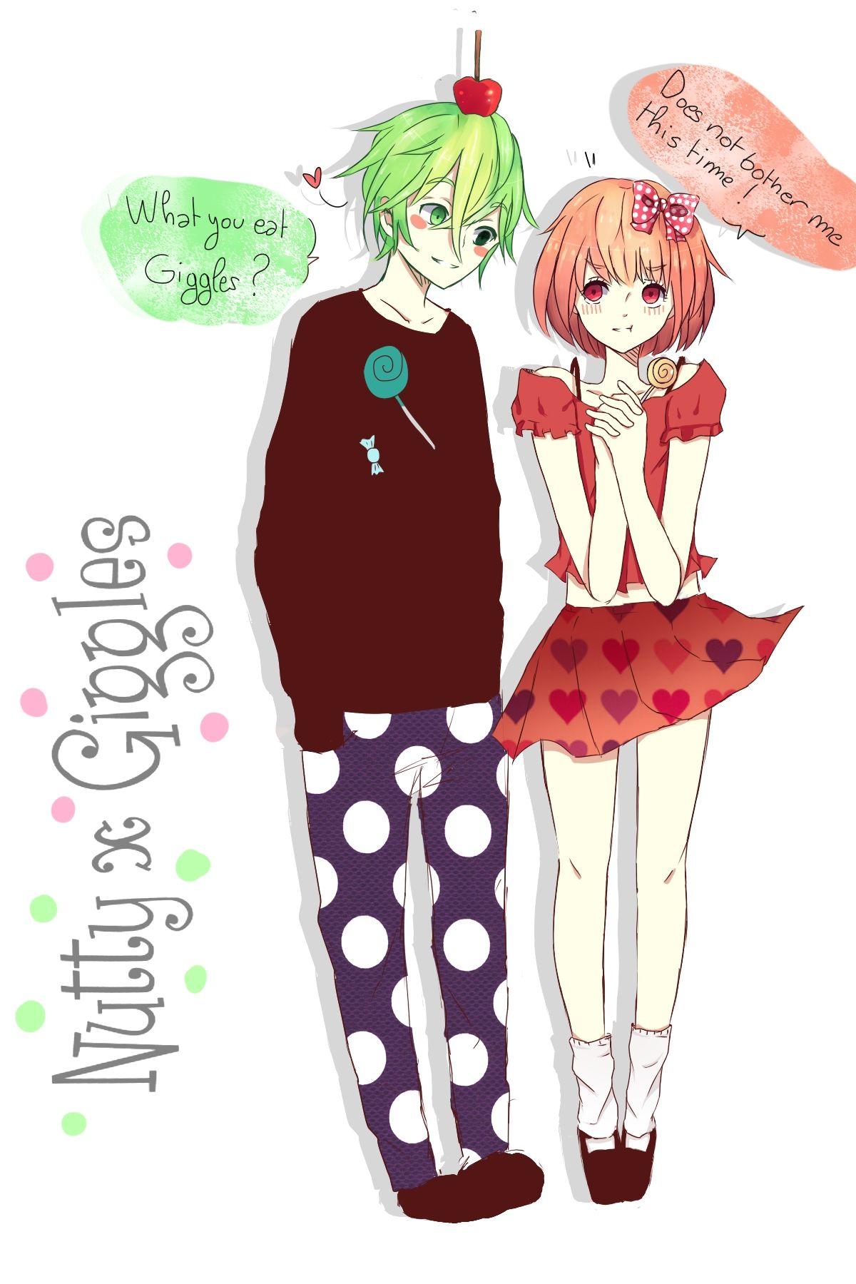 Happy Tree Friends (HTF anime) Nutty x Giggles