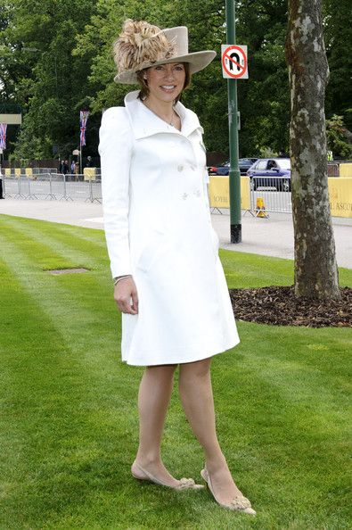Kate Silverton in traditional taupe