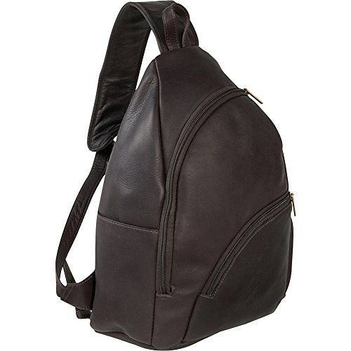e193060cfb Le Donne Leather Unisex Sling Pack Cafe     Click image to review more  details.