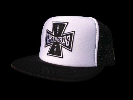Surf Punk Trucker Hat by Helldorado Brand (Sale price!)  fd26dc4af52