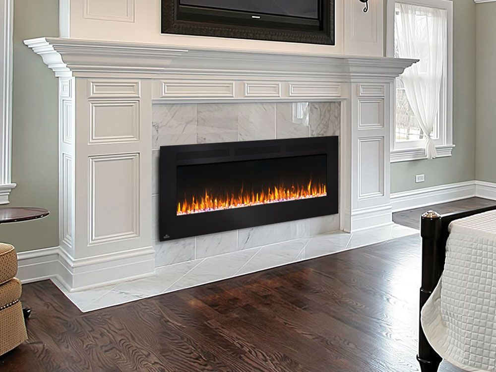 Napoleon 60 in allure wall mount electric fireplace - Bedroom electric fireplace ideas ...