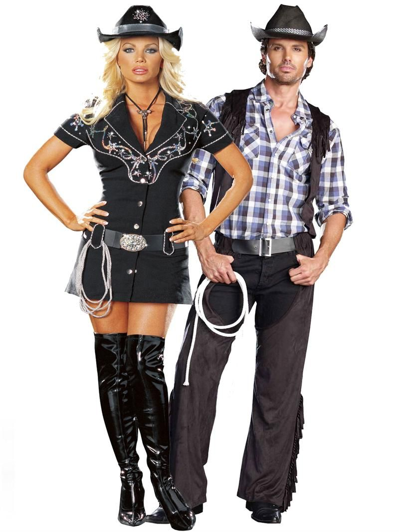 Couples' Halloween nerd costumes complete with glasses and ...