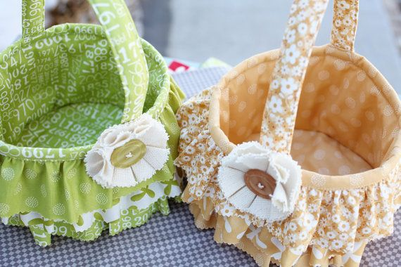 Ruffle easter basket download pattern easter baskets easter pattern to create easter basket finished basket measures 7 x 5 excluding handles negle Gallery