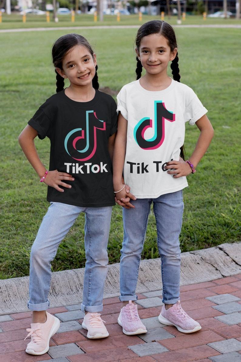 Tiktok T Shirt Tik Tok Hoodie Tik Tok Shirt Tik Tok T Shirts Tiktok Shirts Tiktok Tiktok Party Tiktok Youth Shirt Tik Tok Shirts Cute Outfits For Kids Birthday Shirts Kids Outfits