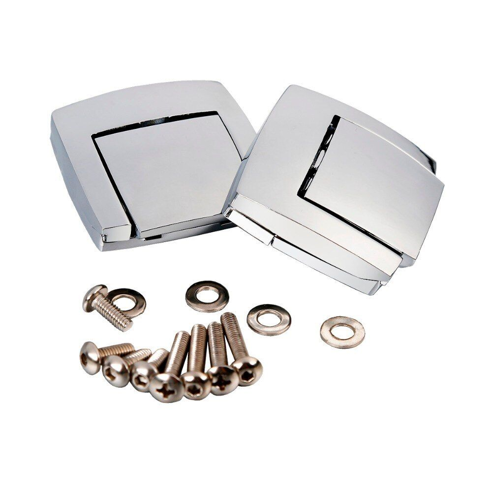 Chrome Motorcycle King Tour Pack Pak Latches Fits For Harley Davidson Touring FLHT FLHR FLHX 2006 2008 2009 2010 2011 2012 2013