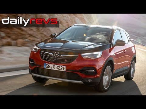 2019 Opel Grandland X Hybrid4 Ruby Red Driving Design Dailyrevs Com In 2020 Opel Red Design
